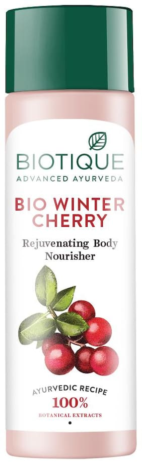 Biotique Winter Cherry Body Lotion 120 Ml