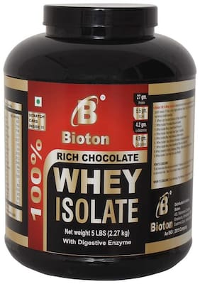Bioton 5 LBS 100% Whey Isolate (2270 g , Rich Chocolate)