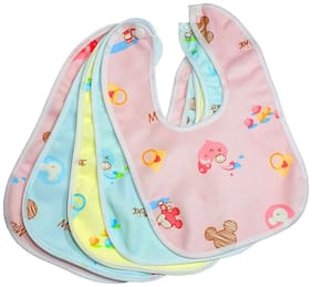 Black Apple Fast Dry-Waterproof, Super Soft Cotton Daily Use, Elegant And Stylish Bibs (Multicolor)