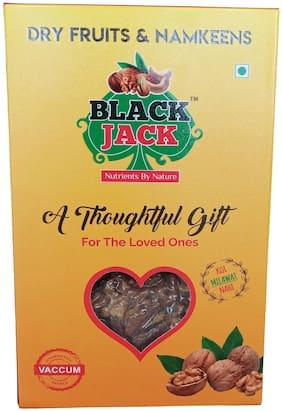 Black Jack 100% Organic Walnut 4 Piece Kernels 500 g ( Pack of 2 )