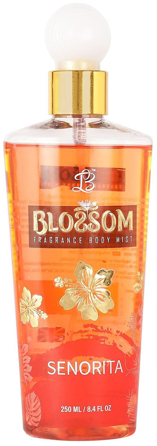 blossom women orange senorita body mist