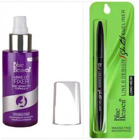 Blue Heaven Combo of Makeup Fixer and Sketch Eyeliner100 g