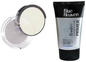 Blue Heaven Combo of Primer And Uhd Compact
