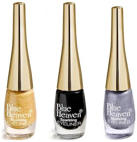 Blue Heaven Sparkling Eyeliners 8Ml Each (Pack Of 3)