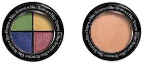 Blue Heaven Combo of 4in1 Magic Eyeshadow (5 g)& Diamond Blush On(5 g) (Pack of 2)