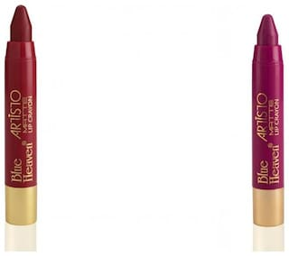 Blue Heaven Artisto Crayon (Cherry;Pink) 3g (Pack Of 2)