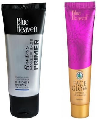 Blue Heaven Combo of Primer And Face Glow Foundation100 g
