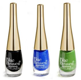 Blue Heaven Liquid Eyeliner Multicolor (Pack of 3)