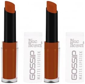 Blue Heaven Combo of 2 Gossip Lipsticks (Shade 2)