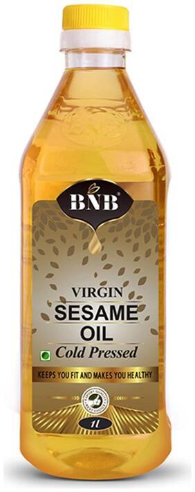 BNB Virgin Sesame Oil | Til OIl | Gingelly Oil Cold Pressed |Cooking Oil| 1 LItre | 100% Pure | 100% Natural