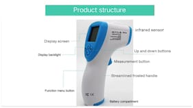 Body Safe GP-200 Digital Non- Contact Touch Forehead Infrared Thermometer