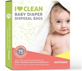 Bodyguard - Baby Diapers And Sanitary Disposal Bag - 75 Bags