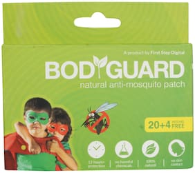 Bodyguard Natural Anti Mosquito Patch 20 Patchs