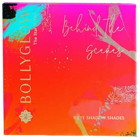 Bollyglow 9 Shade Eyeshadow Palette Behind The Scenes 5g