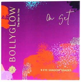 Bollyglow 9 Shade Eyeshadow Palette On Set 5g