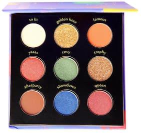 Bollyglow 9 Shade Eyeshadow Palette Award Night 5g