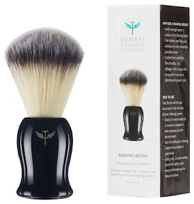 Bombay Shaving Company Shaving Brush - Polished Black Handle 50 gm