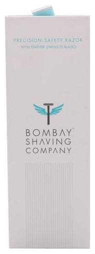 Bombay Shaving Company Combo - Precision Safety Razor + 10 Feather Blades 500 gm