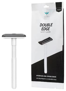 Bombay Shaving Company Double Edge Safety Razor - Grey 1 pc