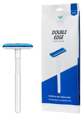 Bombay Shaving Company Double Edge Safety Razor - Blue 1 pc