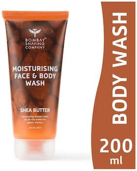 Bombay Shaving Company Shea Butter Moisturising Face & Body Wash 200ml