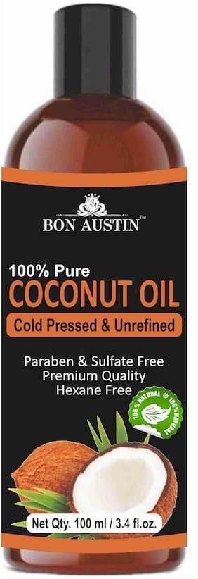 Bon Austin 100% Pure Organic Coconut oil 100ml