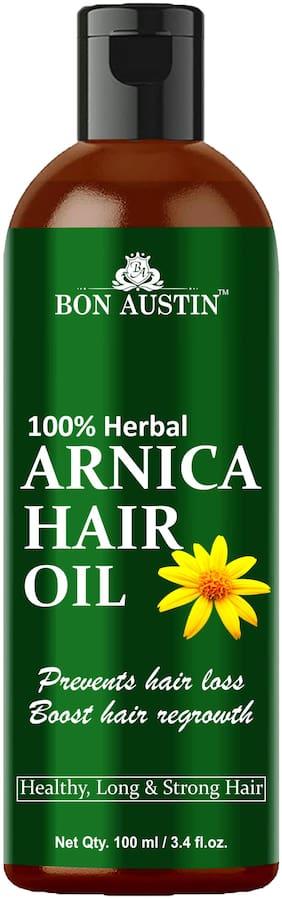 Bon Austin 100% Herbal Arnica Hair Growth Oil For Strong Hair 100 ml (Pack Of 1)