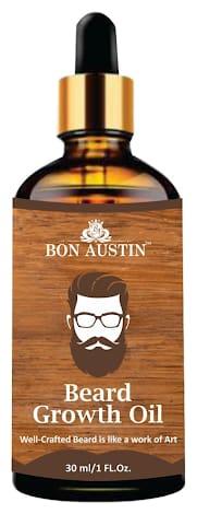 Bon Austin Beard Growth oil- For Stimulating Fast Beard Growth & to maintain Long Beard(30 ml)
