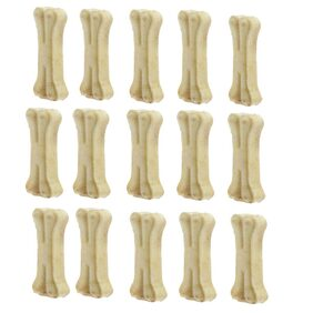 Delicacy Pet Food & Supplies Bones White Dog Chew 3 Inch Pack Of 15