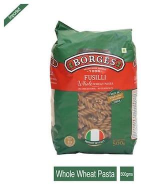 BORGES Pasta - Whole Wheat Fusilli 500 g
