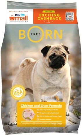 Bornfree Puppy Dog Food 3 kg
