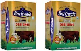 Brij Gwala Pure Desi Ghee 500ml Pack Of -2