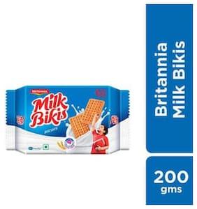 Britannia Biscuits - Milk Bikis 200 gm