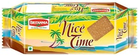 Britannia Nice Time - Sugar Showered Coconut Biscuits 150 g