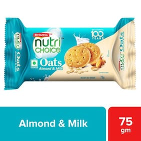 Britannia Nutri Choice Oats - Milk Almond 75 g