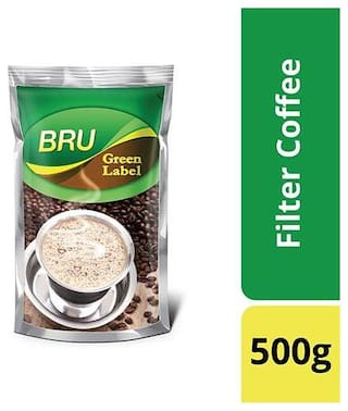 Bru  Filter Coffee - Green Label 500 g