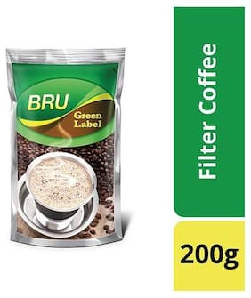 Bru  Filter Coffee - Green Label 200 gm