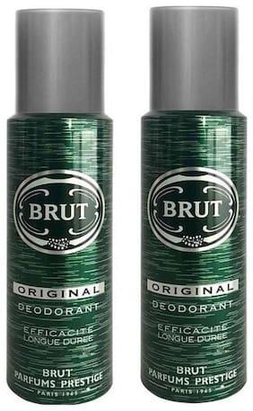 Brut Deodrants(Original)200 ml each(Pack of 2)