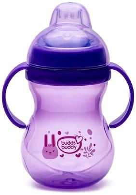 Buddsbuddy Baby Training Sipper 300ml,Purple (Pack of 1)