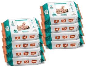 Buddsbuddy Combo of 8 Skincare Baby Wet Wipes - 72 pcs