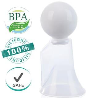 Buddsbuddy Premium Silicone Compact Breast Pump White (Pack Of 1)