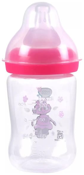Buddsbuddy Premium Feeding bottle regular 4oz/125ml BB7050 pink