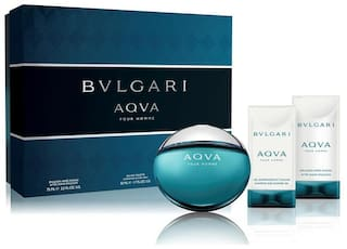 Bvlgari Aqva Ph Set  (Edt50ml+Ase75ml+Ssg75ml)