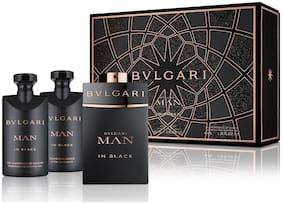 Bvlgari Man In Black Gift Set (EDP60ml+SSG40ml+ASB40ml)