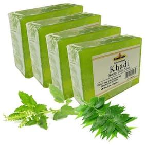 byPurenaturals Khadi Neem Tulsi Soap 125g (Pack of 4)