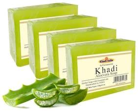 byPurenaturals Khadi Aloevera Soap 125g (Pack of 4)