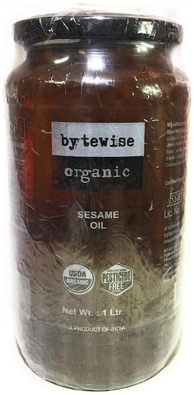 Bytewise Organic Cold Pressed Organic Sesame Oil, 1 Lit