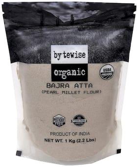 Bytewise Organic Bajra Atta / Pearl Millet Flour 1 kg (Pack Of 1)