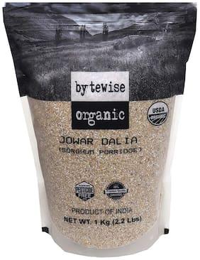 Bytewise Organic Jowar Dalia/ Split Sor ghum 1 kg (Pack Of 1)