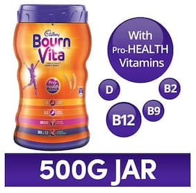 Cadbury Bournvita Health Drink Chocolate 500 Gm